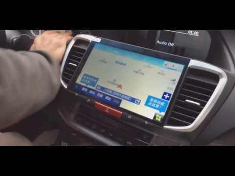 2017 Honda Accord 10.2 inch ANDROID multimedia installation