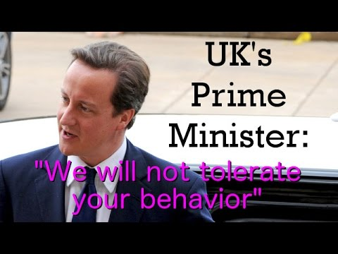 UK prime minister questions sharia courts and extremism (The Infidel 2015-04-13)
