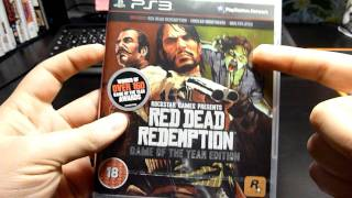 Red Dead Redemption - Game of The Year Edition Unboxing (PS3)