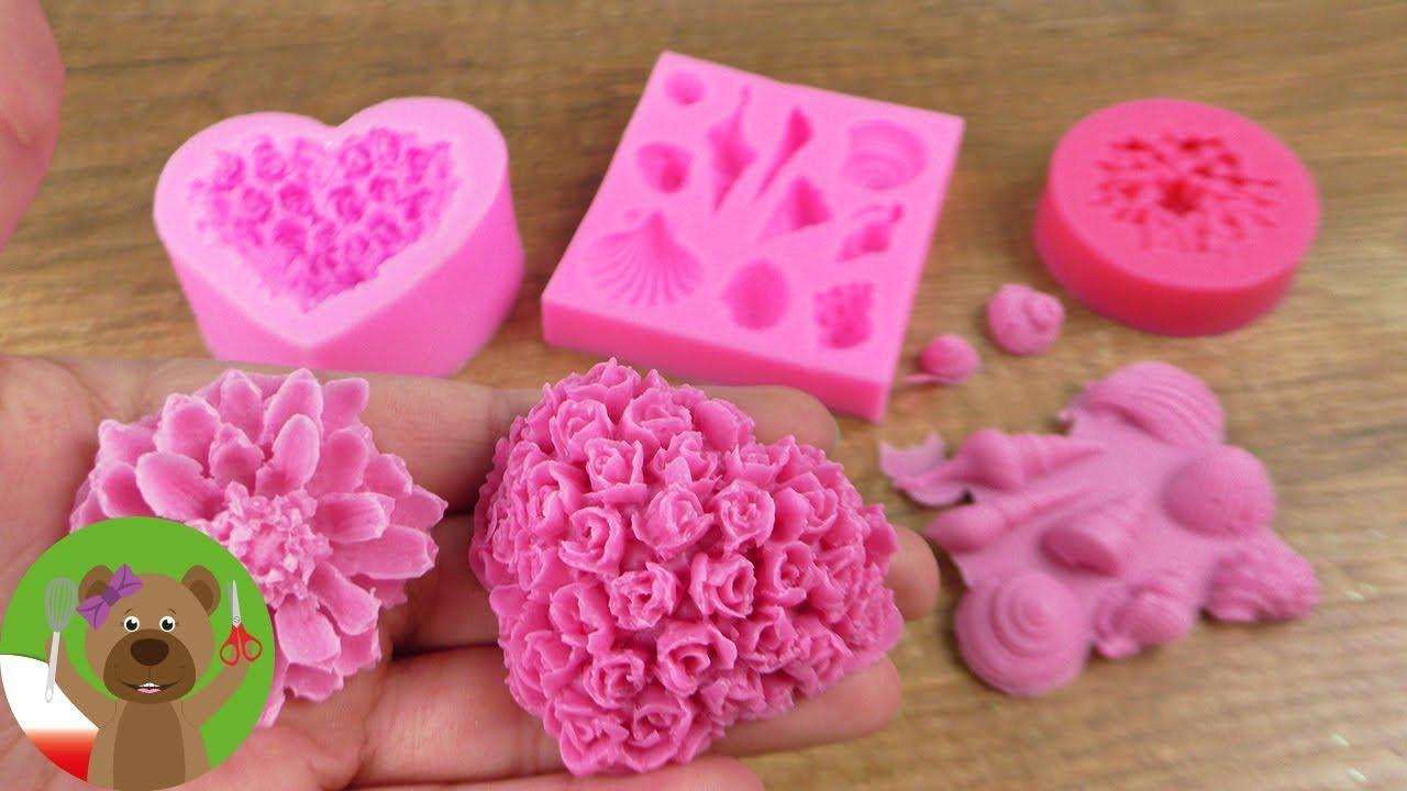 Foremki silikonowe | foremki silikonowe na mydło, czekoladę, etc. | Test