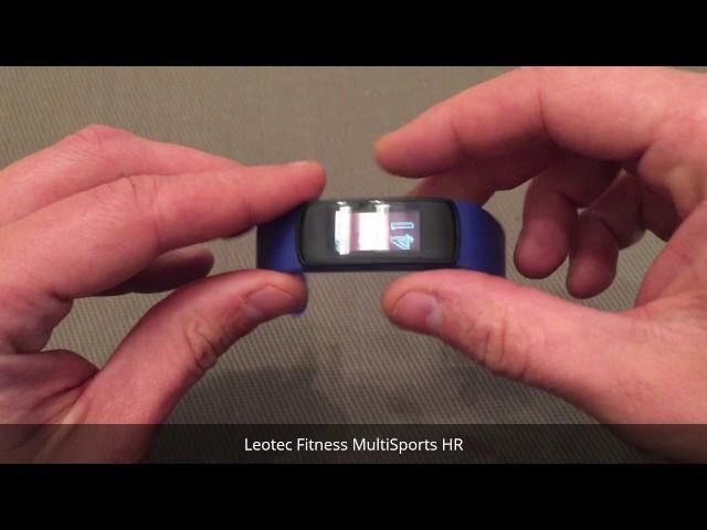 Leotec Fitness MultiSports HR Smartband - Análisis a fondo