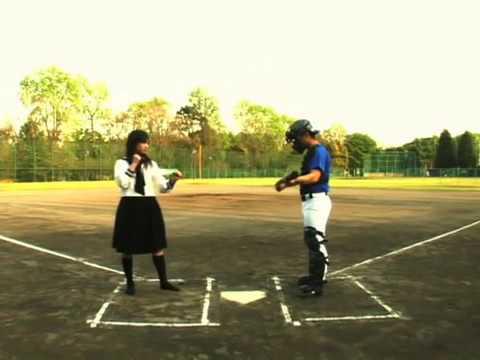 バット折 武田梨奈16歳当時 Kick the bat with a  leg. karate 本格デビュー前 激レア映像 アクション女優  takeda rina