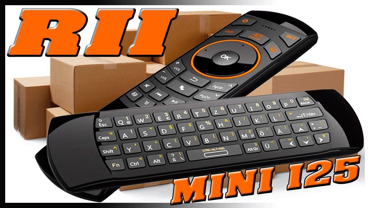 Клавиатура беспроводная+пульт rii mini i25 (rt-mwk25[2. 4g]), 2. 4g.