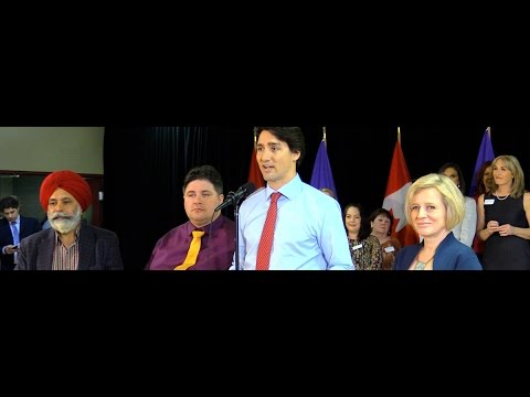"Unemployed oil worker to Trudeau: ""'Hang in there' is not an answer"""