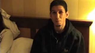 At The Hotel Room Of Boxing Star David Rodela