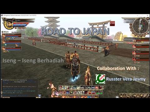 [Gameplay] 3 Kingdom Road To Japan Iseng Iseng Berhadiah Collaboration with Russter Vera Jesmy