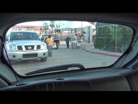 Crossing from Los Algodones, Baja California, Mexico to Andrade, California, USA, then Yuma, AZ
