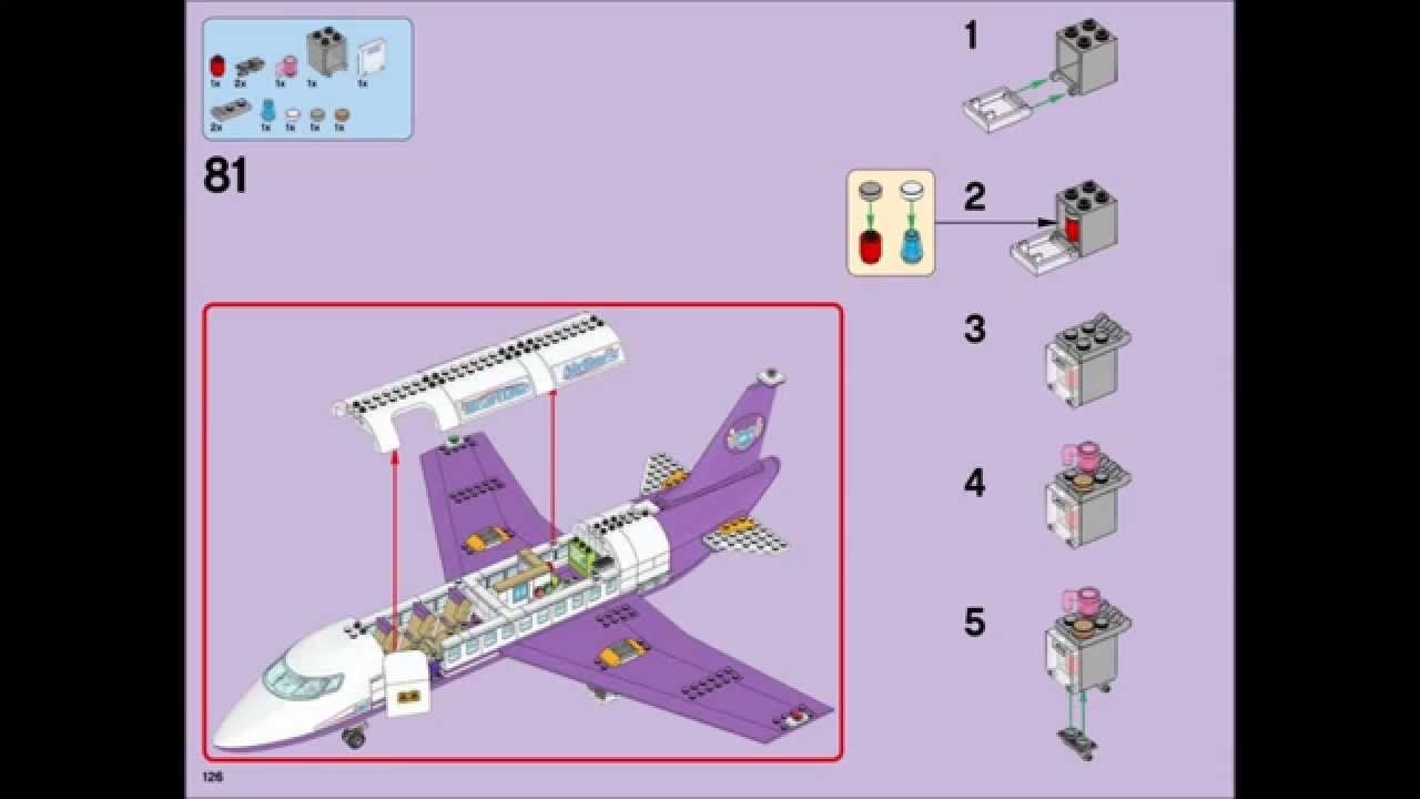 Lego Friends 41109 Heartlake Airport Building Instructions Youtube