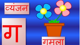 hindi vyanjan with pictures(hindi consonants with pictures)