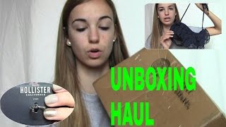 ♡Unboxing Clothing Haul - Hollister & Aeropostale♡