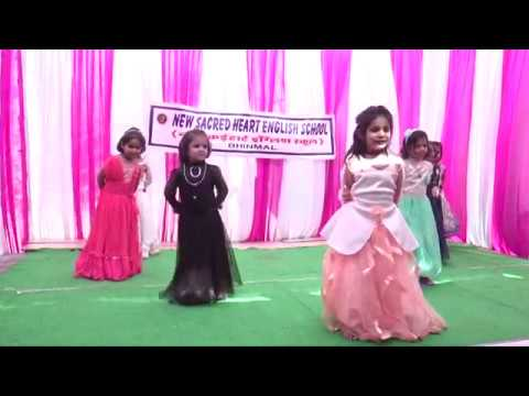 chanda chamke cham cham ...dance performance,New Sacred Heart English School