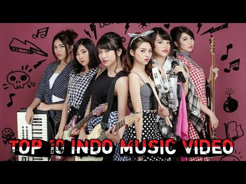TOP 10 INDONESIA MUSIC VIDEO 2018