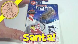 Day #7 - 24 Days Of Christmas 2012 Advent Calendar (hexbug Nano Sleigh) Santa Toy Contest