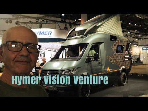 Hymer Vision Venture concept vehicle at Dsseldorf 2019