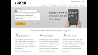 İvona - сайт для тренировки произношения