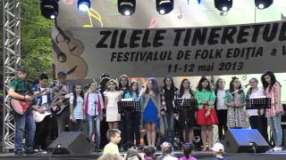 Zilele Tineretului Cugir 2013-Grupul Anotimpuri-O fata ca ea