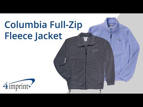 Columbia Full Zip Fleece Jacket - Promotional Products