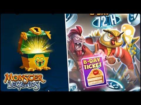 RETO 72 HORA + CRUCE HELGUDIN + COFRE NEMESIS! - Monster Legends