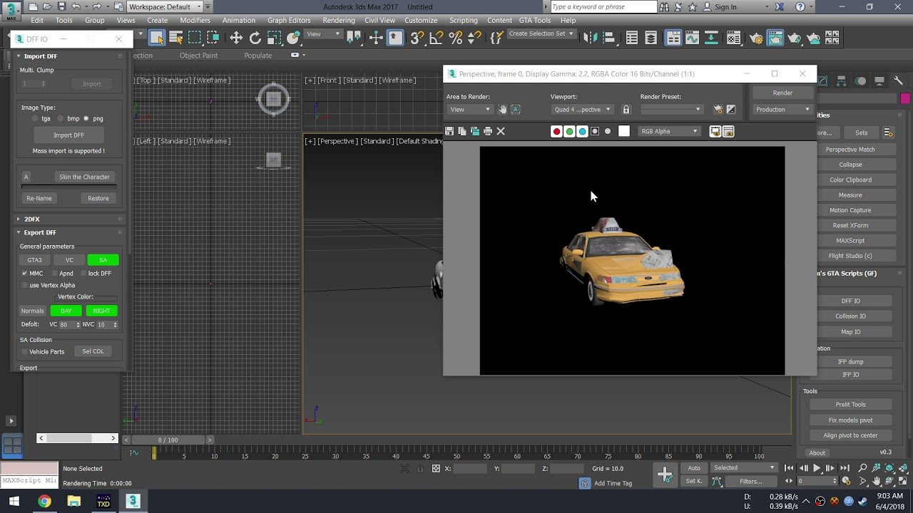 SA] 3ds max 2017 not showing textures after importing  dff - GTA III