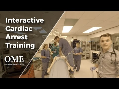 Cardiac Arrest and ALS (Code Blue) Simulation - Training Video with Questions