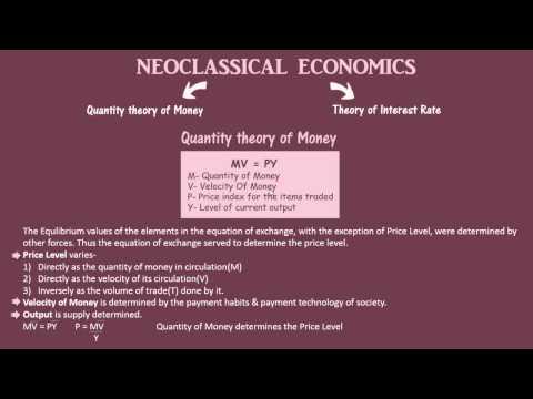 Neoclassical Economics   Macro Economics