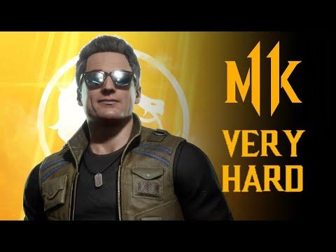 Mortal Kombat 11 - Johnny Cage Klassic Tower (VERY HARD) NO MATCHES LOST