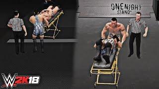 WWE 2K18 Stretcher Match Recreation: Randy Orton vs Rob Van Dam (WWE One Night Stand 2007)