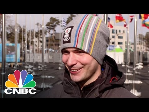 Winter Olympics Athletes Talk Bitcoin | CNBC