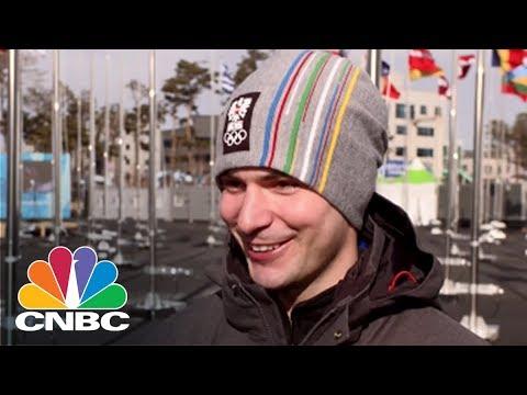 Winter Olympics Athletes Talk Bitcoin | CNBC