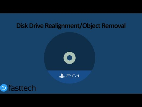 PS4 Not Accepting Discs Fix (Disc Drive Re-Alignment/Object Removal)