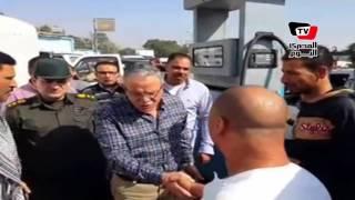محافظ المنيا يشن حملة مفاجئة علي محطات الوقود
