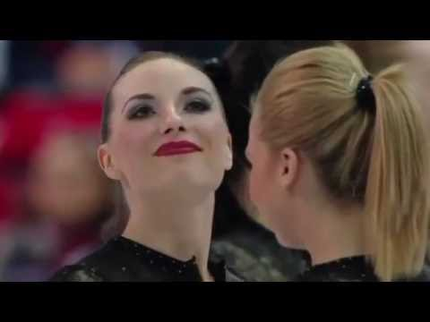 2015 World Synchronized Skating Champs SP Team Canada 1 /wit