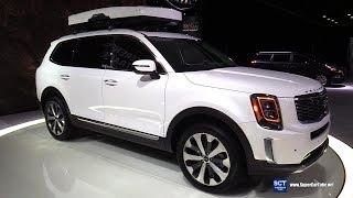 2020 KIA Telluride - Exterior and Interior Walkaround - Debut at 2019 Detroit Auto Show
