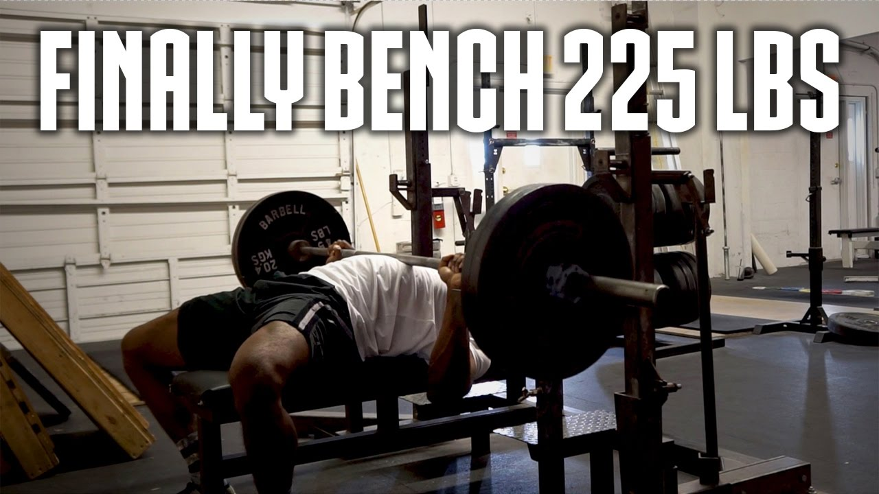 Lovely How To Bench 225 Part - 7: HOW TO BENCH PRESS 225 POUNDS