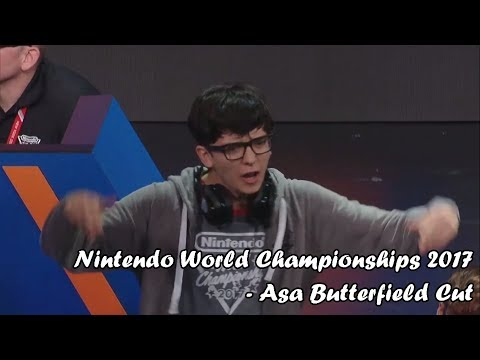Nintendo World Championships 2017  Asa Butterfield Cut