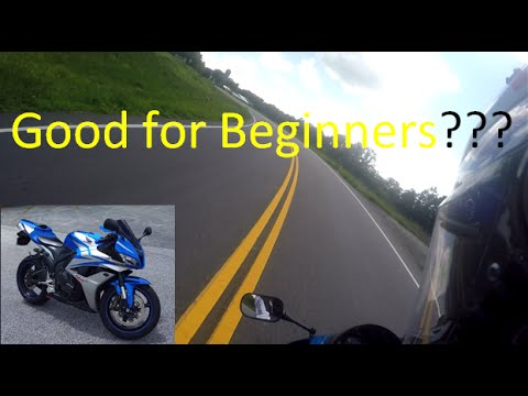 Is the Honda CBR 600rr a Good Beginner Bike?
