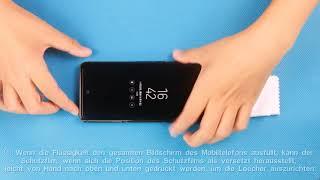 s9 3D glas schutzfolie Installationsvideo 11.28