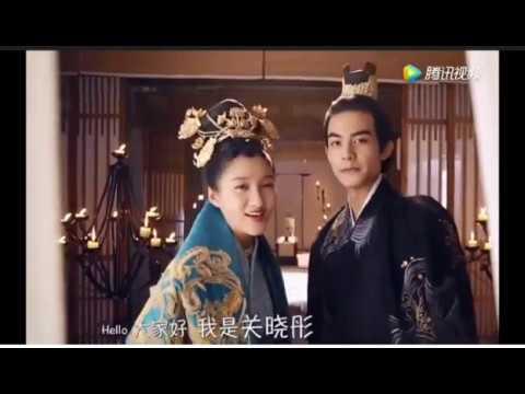 Hiểu Đồng+Uy Long funny song/Untouchable lover behind the scene/ 凤囚凰花絮: 关晓彤宋威龙片场就是大活宝
