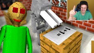 Download БАЗЯ СМОТРИТ - Monster School : BALDI'S BASICS BECOME TEACHER - Minecraft Animation Mp3 and Videos