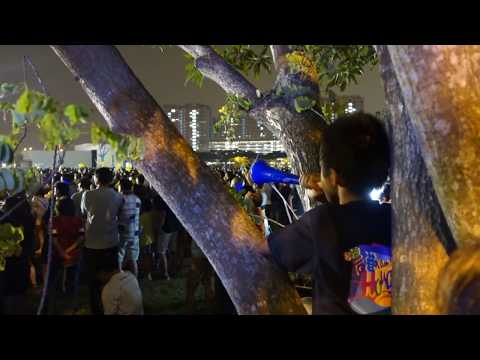 Experiencing Workers' Party Rally of GE2015 Singapore