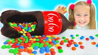 Chocolate & Soda Challenge with Eva Surprise