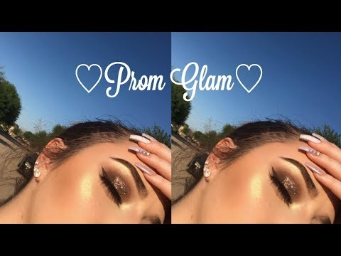 ♡DRUGSTORE Prom Glam Makeup Tutorial♡