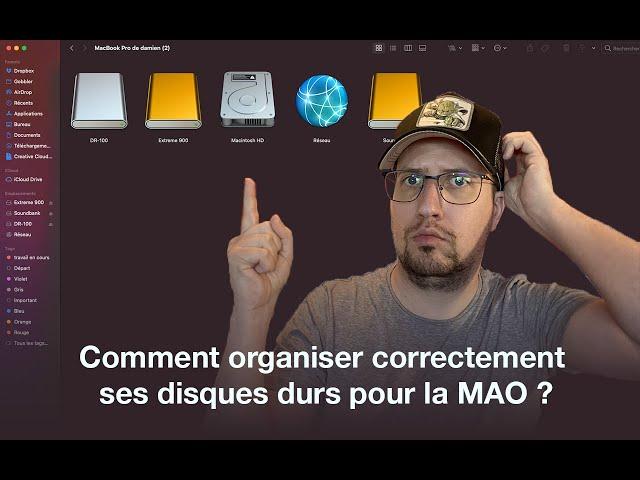 Comment organisez-vous votre disque dur pour la MAO ? - [Mixage en Home Studio]