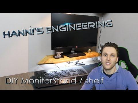 DIY Monitor stand / shelf