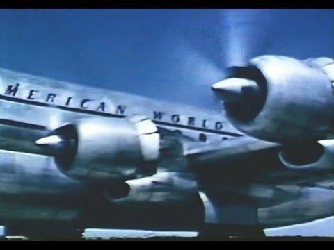 Pan Am Boeing 377 Stratocruiser Promo Film - 1950