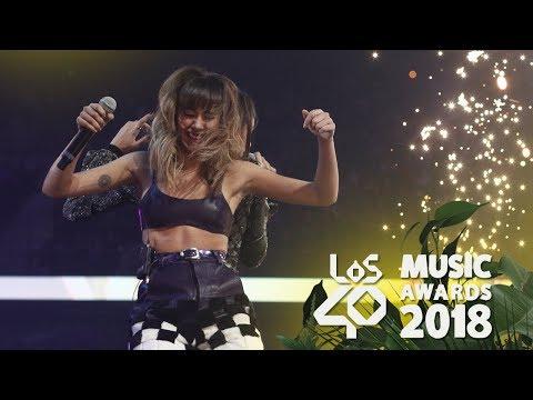 ¡Los mejores momentos de LOS40 Music Awards 2018!