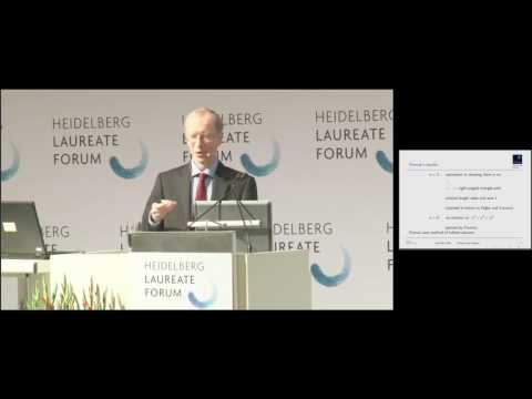 4th HLF - Lecture: Sir Andrew Wiles
