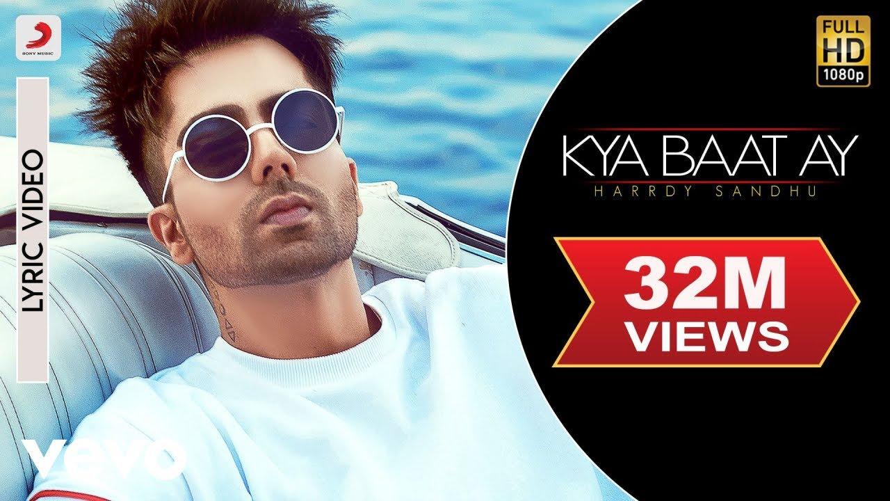 Harrdy Sandhu - Kya Baat Ay   Jaani & B Praak  Official Lyric Video