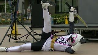 2015/6/14 愛知県豊橋市で行われた、手裏剣戦隊ニンニンジャーショーの...
