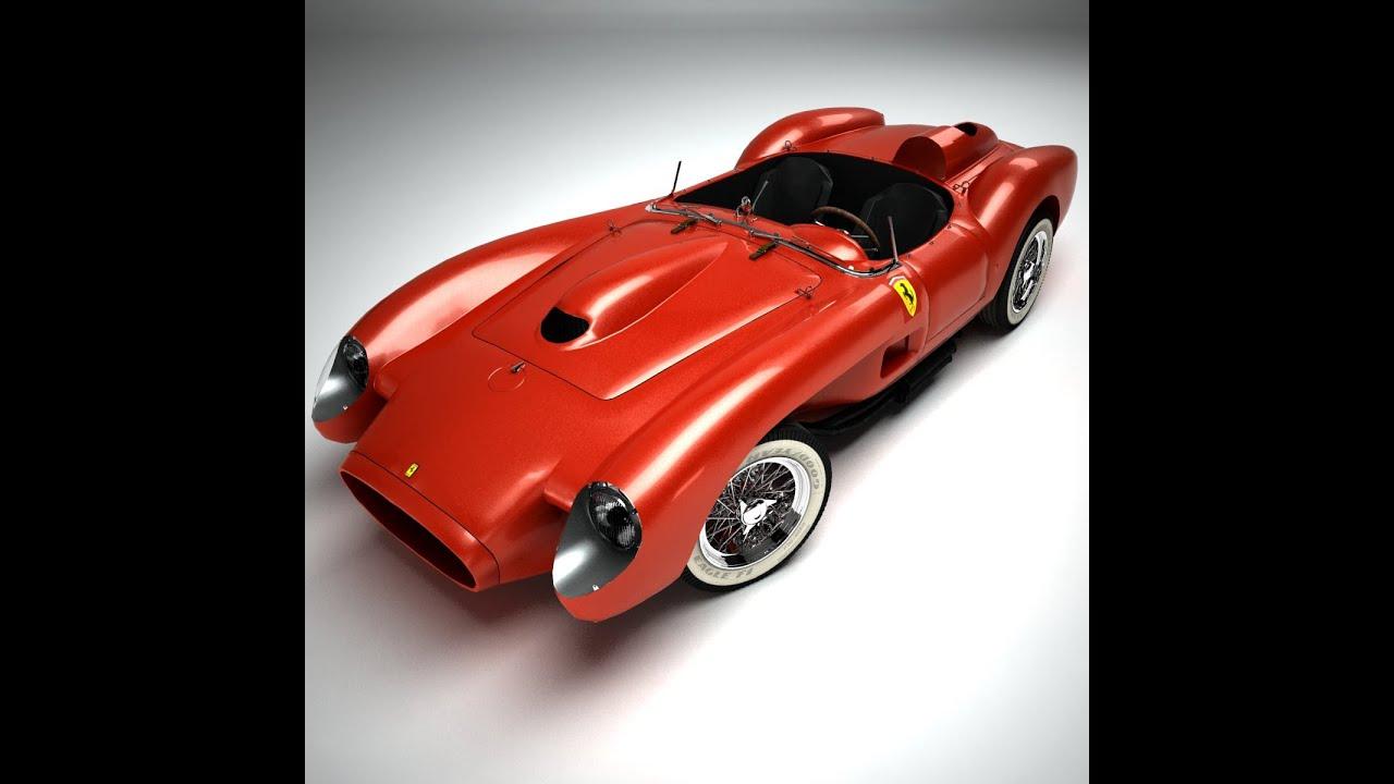 3d model ferrari 250 testa rossa 1957 at 3dexport youtube 3d model ferrari 250 testa rossa 1957 at 3dexport vanachro Gallery